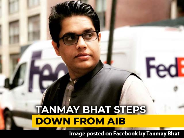 "Video : Comedian Tanmay Bhat To ""Step Away"" From AIB Amid #MeToo Allegations"