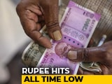 Video: Rupee Hits New All-Time Low Of 73.77 Against Dollar
