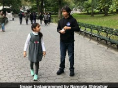 More Pics From Namrata Shirodkar's New York Vacation Album