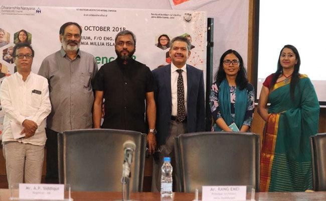 जामिया मिल्लिया इस्लामिया में स्वास्थ्य सेवा एवं वास्तुकला संगम 'कॉन्फ्लूयन्स 18 ' का सफल आयोजन