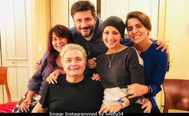 Sonali Bendre, Priyanka Chopra Visit Rishi Kapoor In New York. Neetu Kapoor's Caption Is Just So Sweet