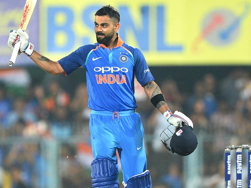 Record-maker Kohli powers India to 321-6 in 2nd ODI