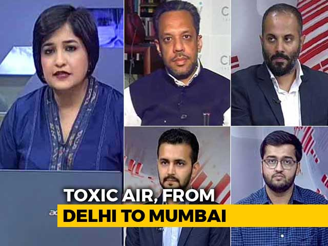 Video : From Delhi To Mumbai, India's Air Emergency Worsens