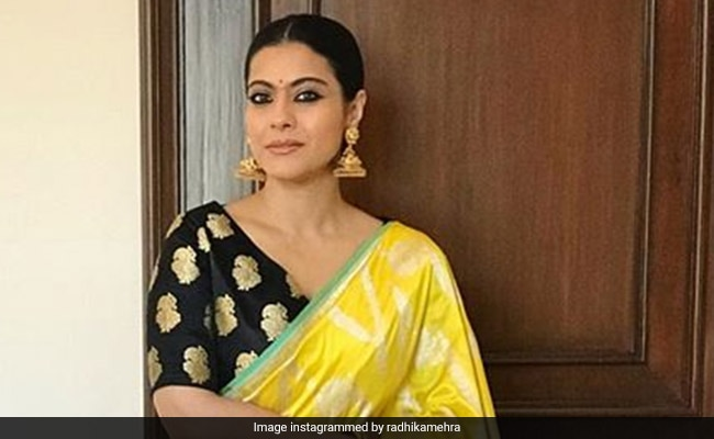 Kajol In This Benarasi <i>Saree</i> Will Give You Major Festive Vibes. Get Her Look