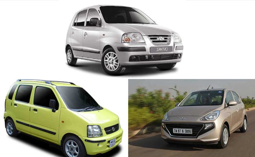 The new Hyundai Santro at 3610 mm is longer by 45 mm than the predecessor.