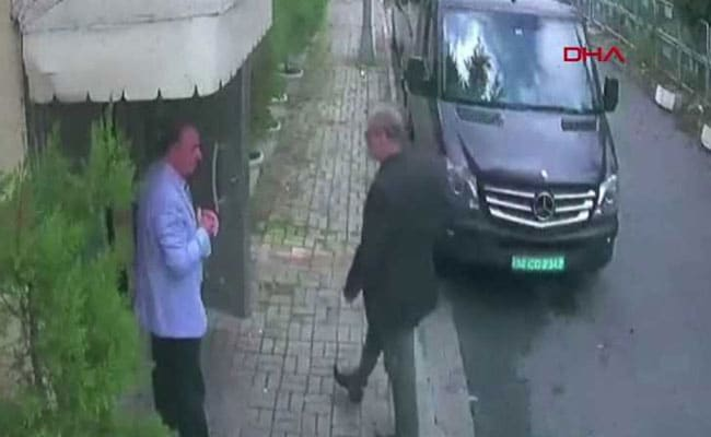 CCTV Footage Shows 3 Men Transporting ''Jamal Khashoggi's Body Parts''