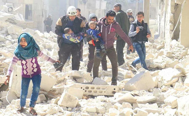 Human Rights Group Says Nearly 20 000 Killed In Syria War In 2018