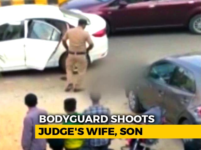 Video : Gurgaon Judge's Wife, Shot By Guard, Dies In Hospital; Son Still Critical