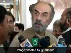 पाकिस्तानी नेता ने पत्रकारों के सवालों का ऐसे दिया जवाब, सुनकर रोक नहीं पाएंगे हंसी, देखें VIDEO