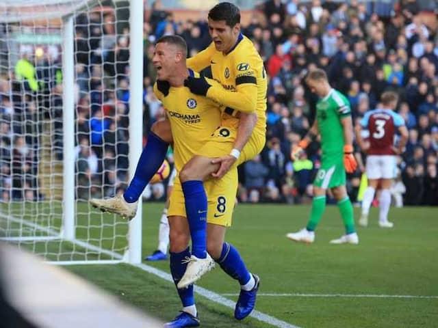 Premier League: No Eden Hazard, No Problem As Chelsea Hit Burnley For Four