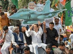 """""""PM Admitted To Theft"""": Rahul Gandhi After Centre Shares Rafale Details"""