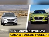 Video : Hyundai Kona & Tucson Facelift: First Drive
