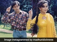 Madhuri Dixit In 'Blast From The Past' Pic With Salman Khan