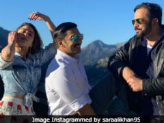 Inside Sara Ali Khan And Ranveer Singh's 'Sweet Swiss Shenanigans' On The Sets Of <I>Simmba</I>