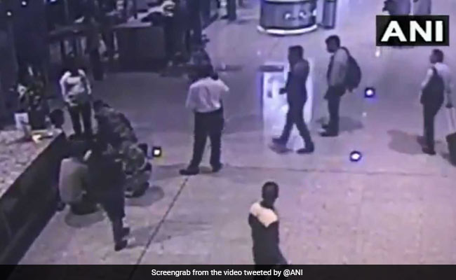 Dramatic Video Shows Mumbai Airport Security Officer Saving Man With CPR