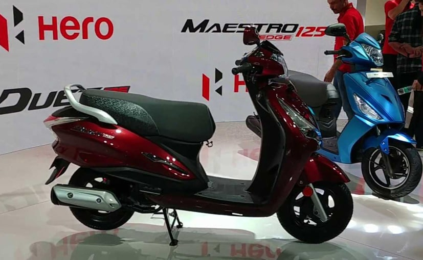 The new Hero Destini 125 is based on the 110 cc Duet but gets cosmetic changes.