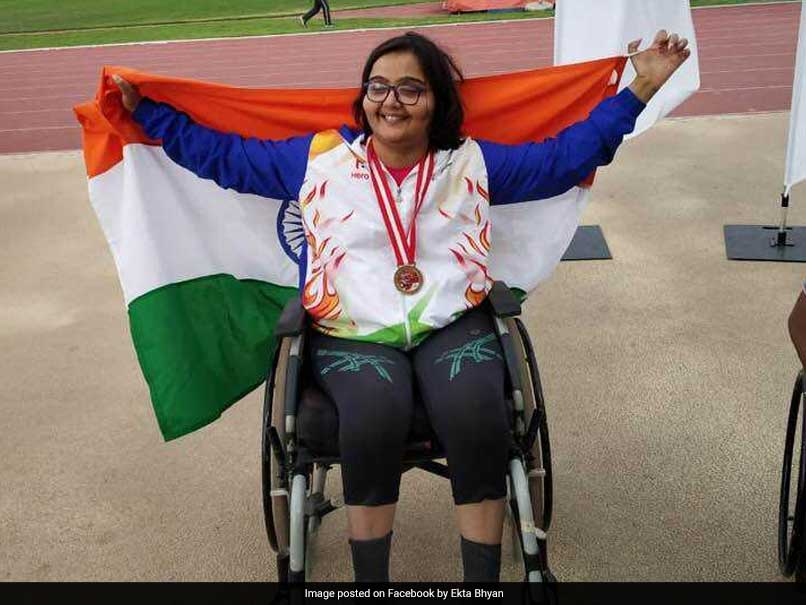 2018 Asian Para Games: Ekta Bhyan, Manish Narwal Add To India