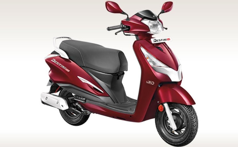 We list down some of the top features offered with the all-new Hero Destini 125
