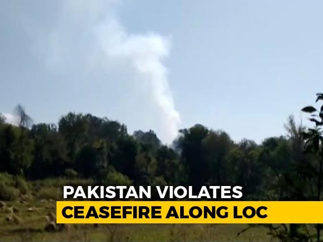 Video : Blast Inside Army Brigade Headquarters As Pakistan Violates Ceasefire