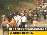 "Video : Top Court's Sabarimala Order Challenged: ""No Match For Voice Of People"""