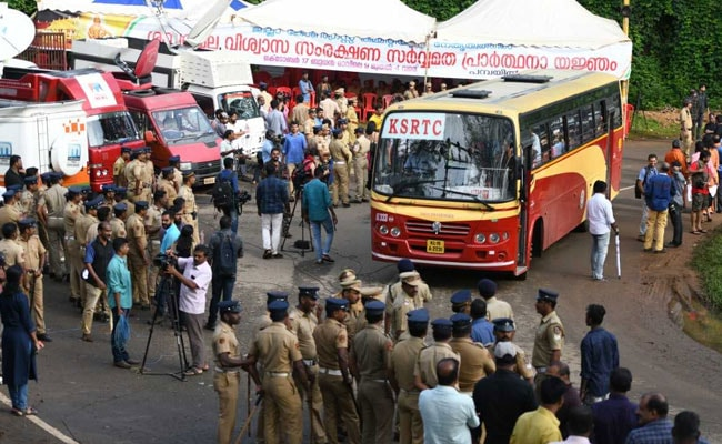 Sabarimala Temple Opening Highlights: Sabarimala Temple Opens As Protesters Clash With Police
