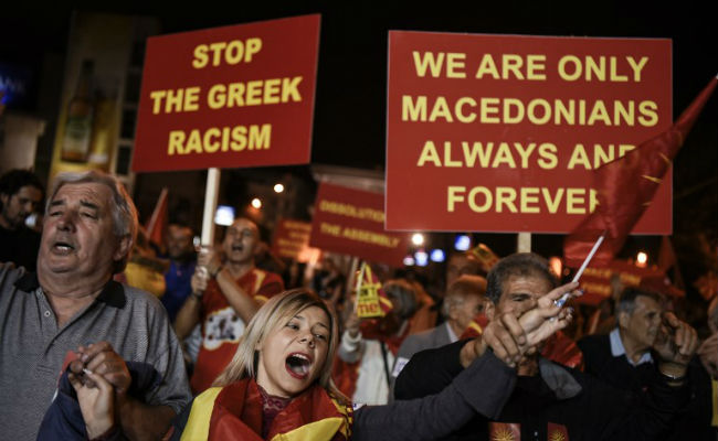 Macedonia Votes In Favour Of Name Change, Settling Decades-Old Greece Row