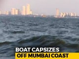 Video : Boat Carrying Maharashtra Chief Secretary Capsizes Off Mumbai Coast