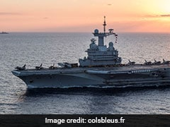 As Chinese Assertion Grows, France Plans Aircraft Carrier In Indian Ocean