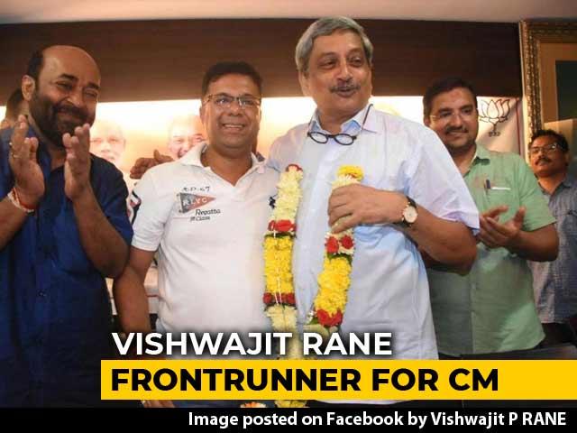 Video : As BJP Gains Numbers In Goa, Chief Minister Buzz Around Vishwajit Rane