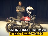 Video : Sponsored: Triumph Street Scrambler
