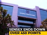 Video : Sensex Closes 463 Points Lower, Nifty Holds 10,300