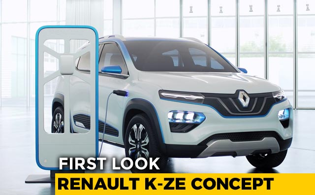 Renault K-ZE Concept /  Kwid Electric - First Look