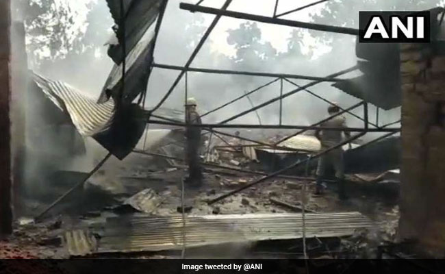 Fire At West Bengal's Fireworks Factory Injures 13
