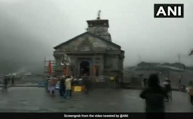 Kedarnath Shrine Closed For Winter