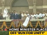 Video : On Sardar Patel's Birth Anniversary, 'Run For Unity' Flagged Off