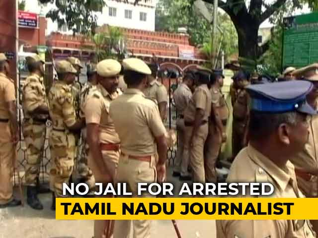 Video : No Jail For <i>Nakkheeran</i> Editor, Arrested For Defamation, Says Court