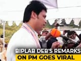 Video : One Of PM Modi's Brothers Is Grocer, Another Drives Auto, Says Biplab Deb