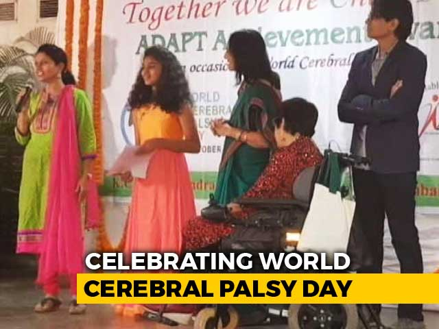 Video : Mumbai NGO Organises Event To Honour Cerebral Palsy Patients