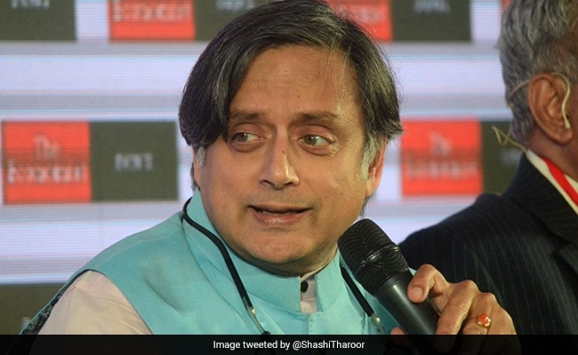 Shashi Tharoor's #10YearChallenge Post Is A Jab At BJP