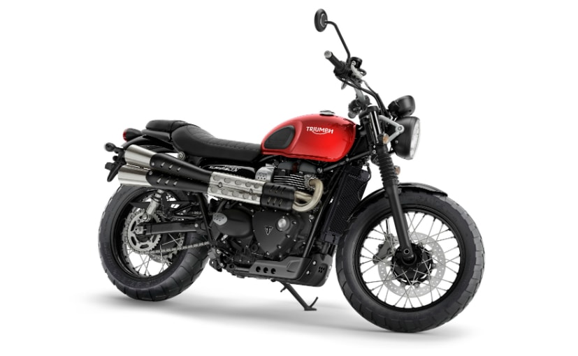 The 2019 Triumph Street Scrambler gets minor updates, including changes to the engine