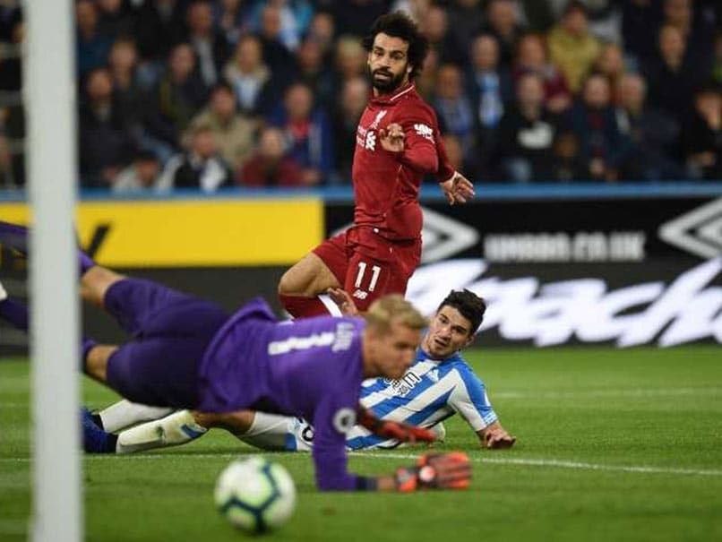 Mohamed Salah Back On The Goal Trail As Liverpool Beat Huddersfield