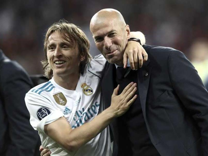 Luka Modric Never Thought Zinedine Zidane, Cristano Ronaldo Would Leave Real Madrid
