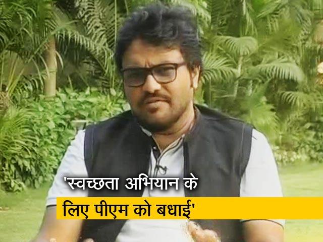 Videos : NDTV Cleanathon में बोले बाबुल सुप्रियो- परमात्मा को खुश करने के लिए पर्यावरण को साफ रखे