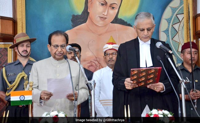 Justice Bopanna Sworn In As Chief Justice Of Gauhati High Court