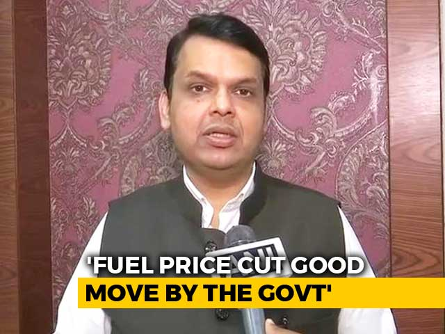 Video : Maharashtra Cut Fuel Prices After Centre's Announcement