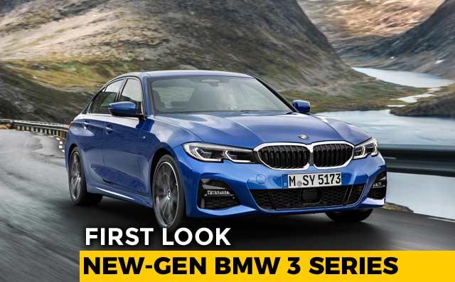 Video : First Look: New-Gen BMW 3 Series - 2018 Paris Motor Show