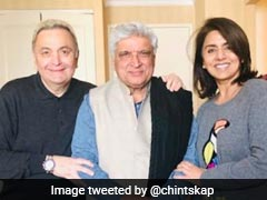Rishi Kapoor, Undergoing Medical Treatment In New York, Gets A New Visitor - Javed Akhtar