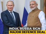 Video : India, Russia Sign S-400 Missile Deal, Keep Announcement Low Key