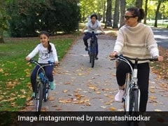 Namrata Shirodkar And Family's New York Pics: Sugar Spice And Everything Nice