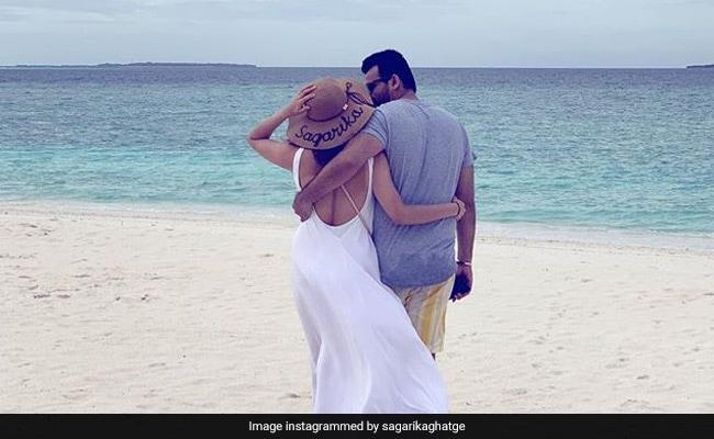 Sagarika Ghatge And Zaheer Khan's Loved-Up Pic From Maldives Vacation Is Postcard-Worthy
